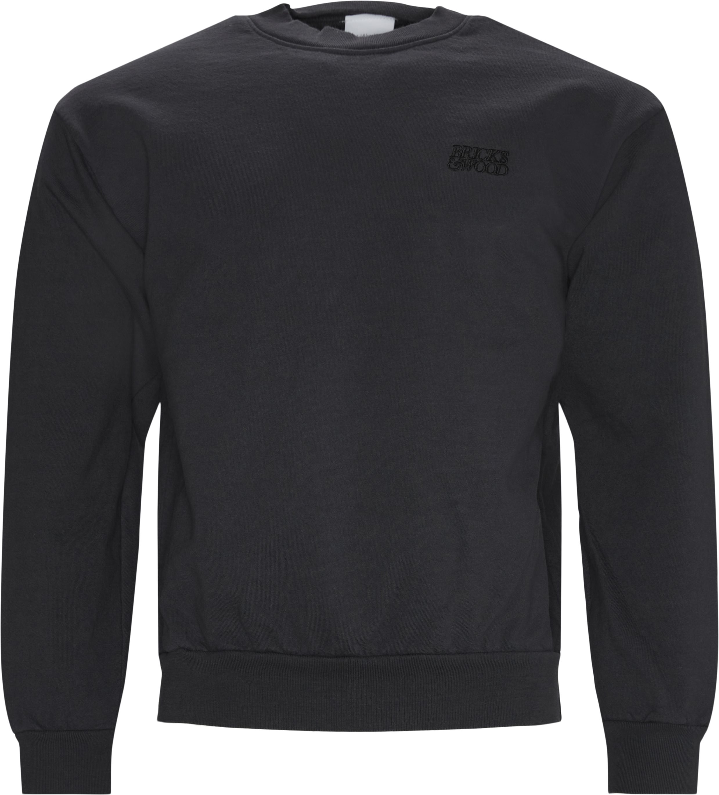 Logo Crewneck - Sweatshirts - Regular - Blå